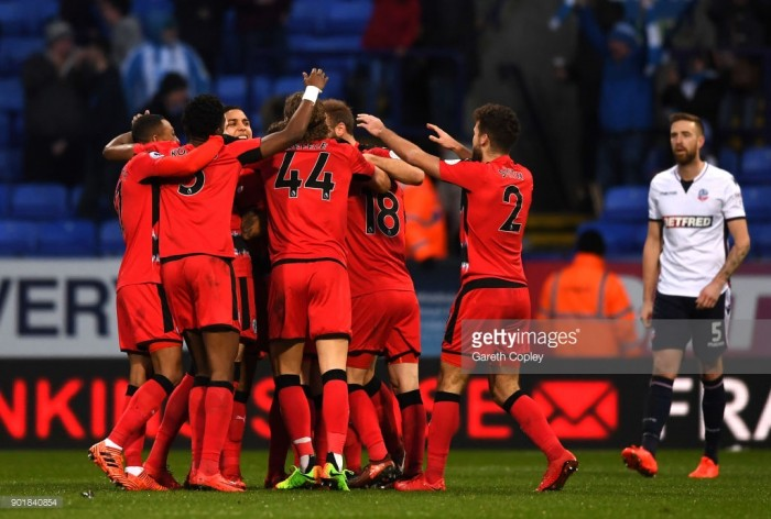 Bolton Wanderers 1-2 Huddersfield Town: Early second-half goals send Terriers to the Fourth Round