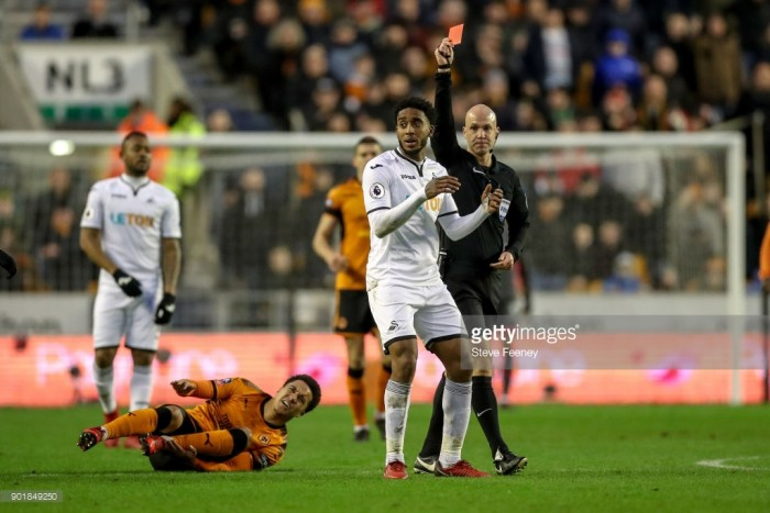 Carlos Carvalhal says Swansea City will appeal Leroy Fer's red card against Wolves