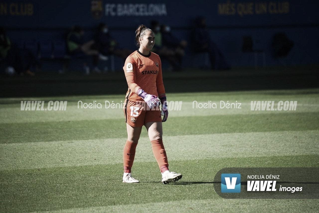 Bruna Vilamala y Cata Coll, con la Sub-20