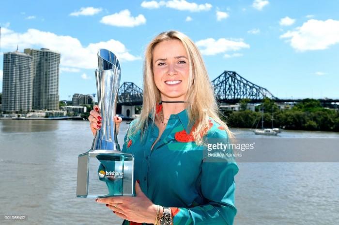 WTA Brisbane: Elina Svitolina breezes past Aliaksandra Sasnovich to win first title of the year