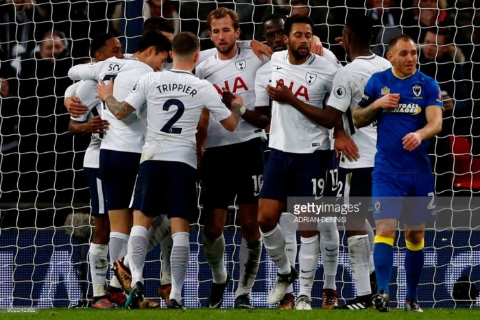 Kane says happy at Spurs as long as trophies start coming