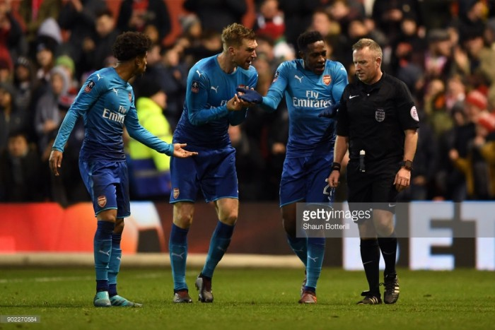 Nottingham Forest 4-2 Arsenal: Gunners player ratings they crash out of the cup