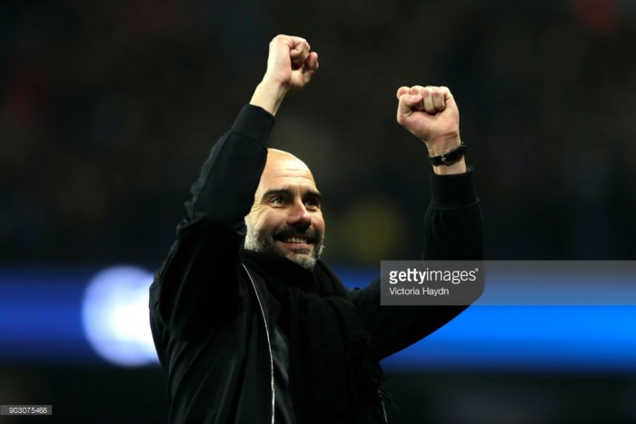 Pep Guardiola praises Bristol City after hard-fought first leg