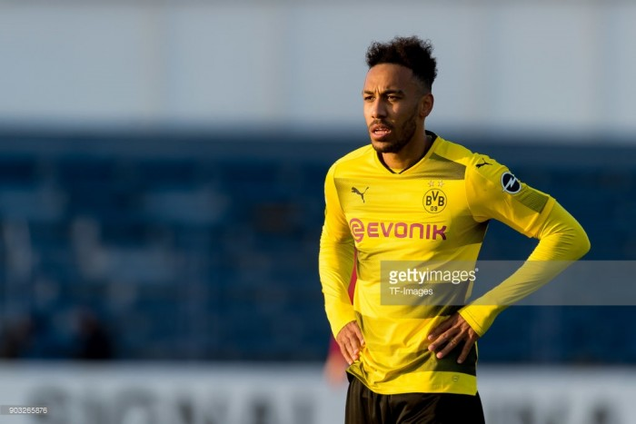 Arsenal target Borussia Dortmund striker Pierre-Emerick Aubameyang