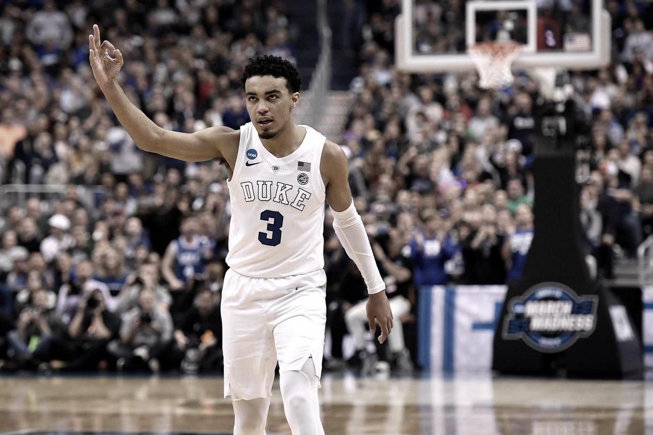 Tre Jones joins the NBA Draft