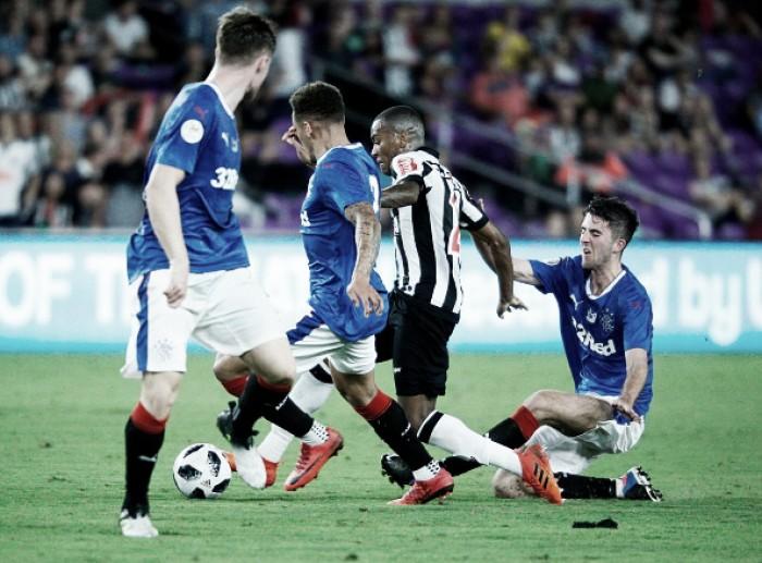 Com time misto, Atlético-MG perde para Rangers na estreia da Florida Cup