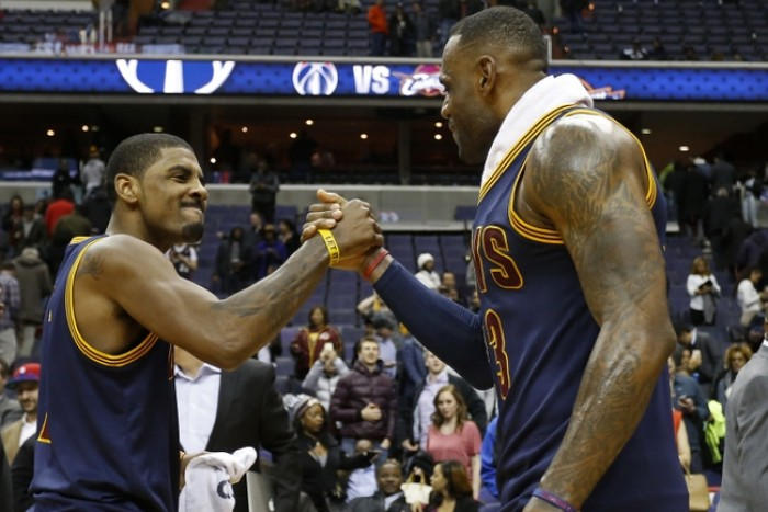 James, Irving Combine For 66 Points As Cleveland Cavaliers Defeat Washington Wizards, 121-115