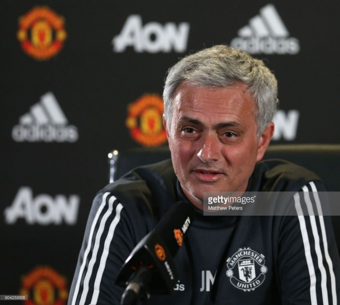 Jose Mourinho addresses media ahead of Stoke City clash