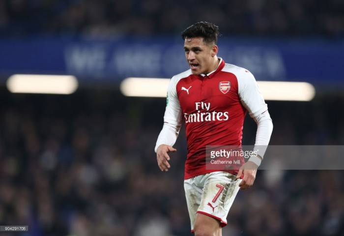 Alexis Sanchez left out of Arsenal squad to play Bournemouth following imminent transfer