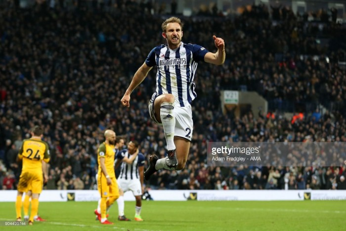 West Bromwich Albion 2-0 Brighton & Hove Albion: Evans and Dawson give Pardew first league win for Baggies
