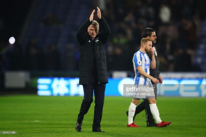 """David Moyes: West Ham's entire team performance was """"really good"""" in Huddersfield win"""