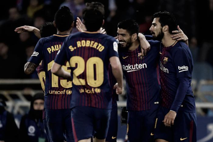 Barcelona vence Real Sociedad de virada, quebra tabu no Anoeta e mantém invencibilidade
