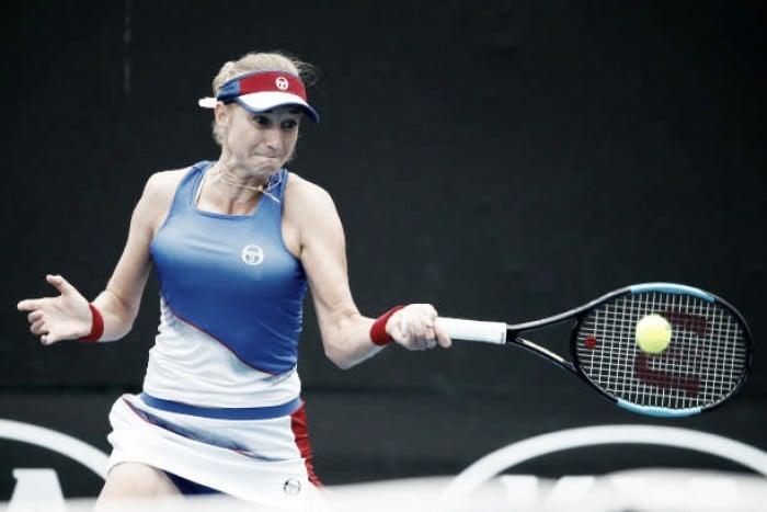 WTA Doha: Ekaterina Makarova dispatches Shuai Zhang in straight sets
