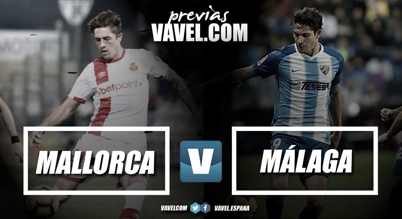 Previa RCD Mallorca - Málaga CF: Segunda prueba de fuego