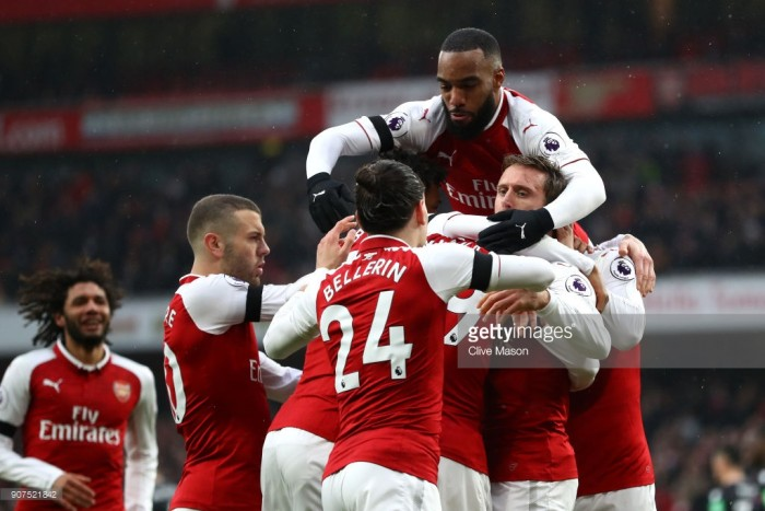 Arsenal vs. Crystal Palace live stream 2018