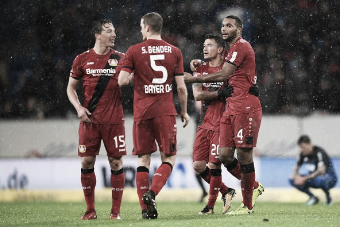 Bayer Leverkusen goleia Hoffenheim fora de casa e salta para vice-liderança da Bundesliga