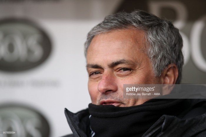 Manchester United have no competition up front - Jose Mourinho