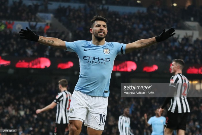 Hat-trick hero Agüero states that Newcastle victory is the bounce back Manchester City needed