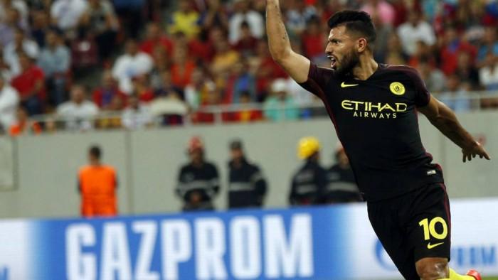 Champions League, il Manchester City demolisce la Steaua e prenota i gironi: 0-5 a Bucarest