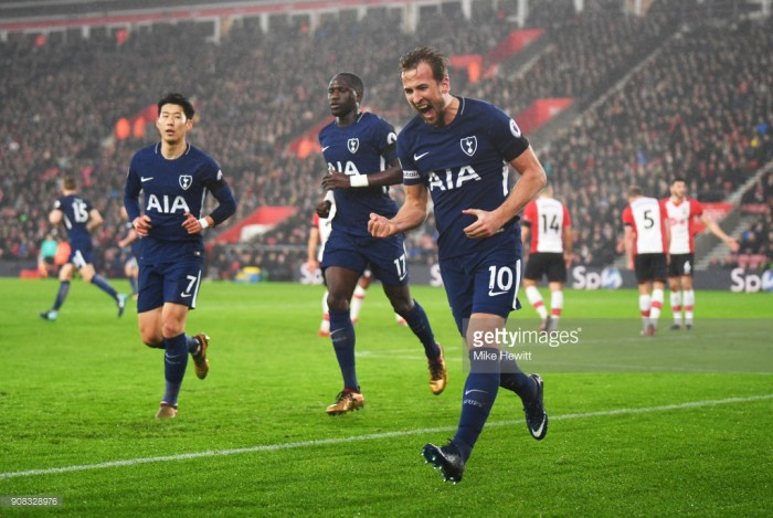Southampton 1-1 Tottenham Hotspur: Solid Saints frustrate a sluggish Spurs side who lose ground on top four