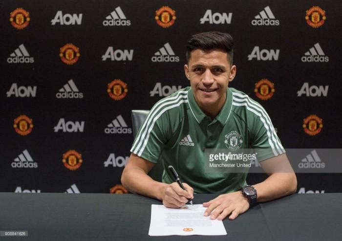 Alexis Sánchez: Manchester United move a dream come true