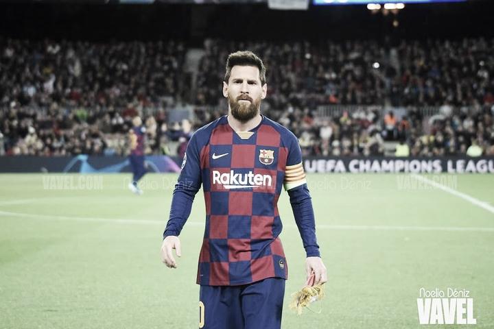 Leo Messi recibe su sexto 'Pichichi'