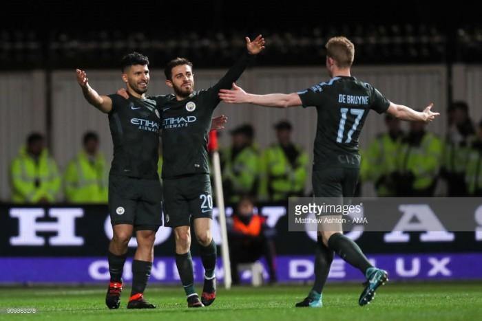 Bristol City (3) 2-3 (5) Manchester City: Citizens edge plucky Robins to reach Carabao Cup Final
