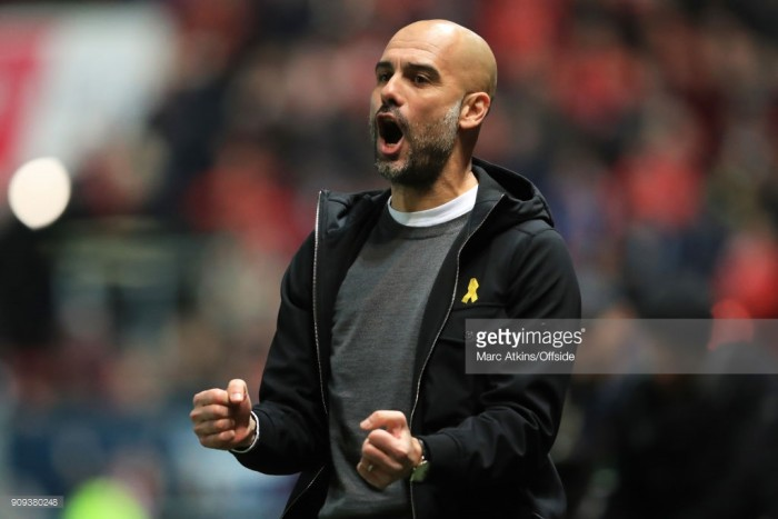 Pep Guardiola hopes Carabao Cup success can take Manchester City to the next level