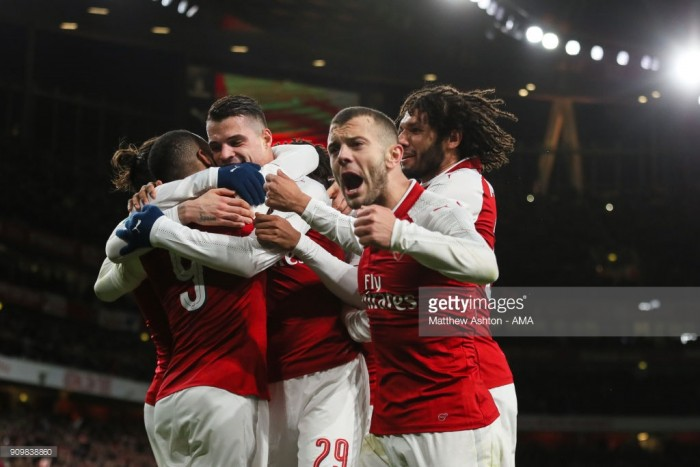 Arsenal 2-1 Chelsea (2-1 on agg): Xhaka fires Gunners into Carabao Cup final