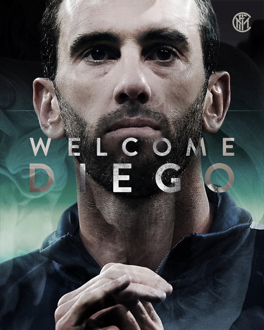 Internazionale anuncia contratação de Godín, ex-Atlético de Madrid