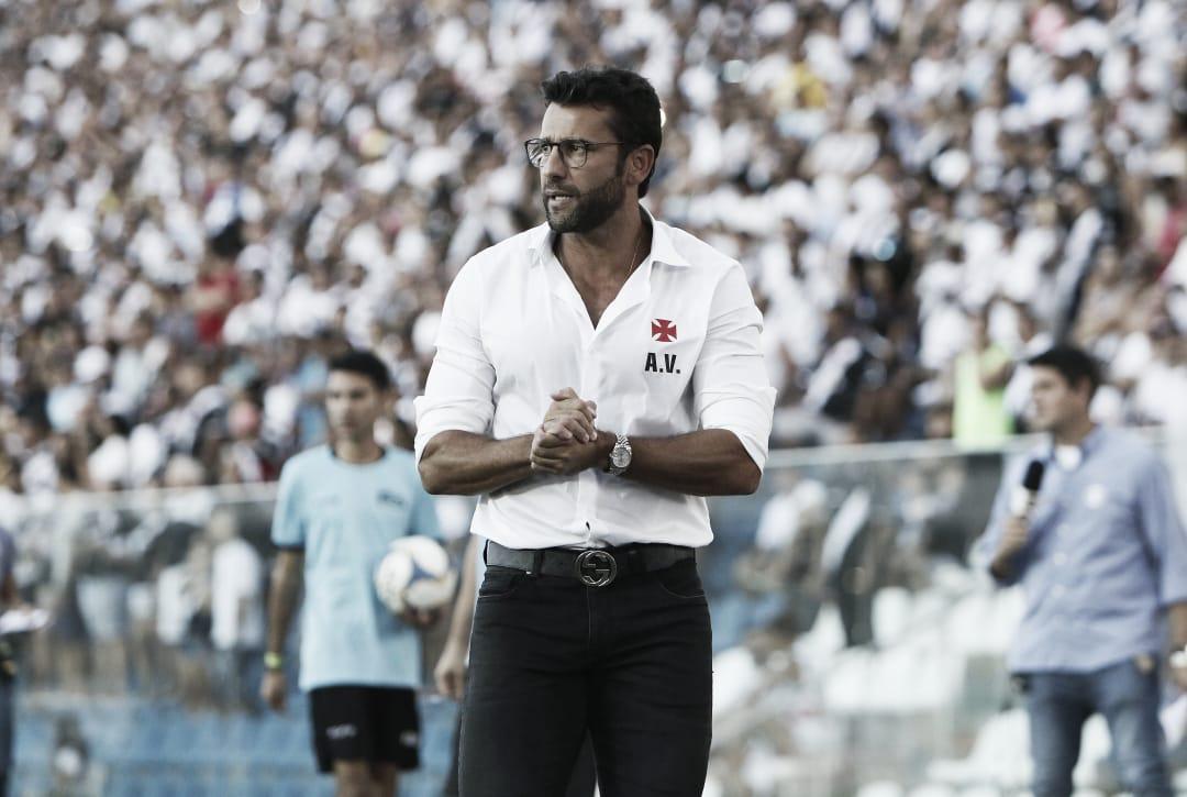 """Valentim minimiza fim da invencibilidade do Vasco: """"Sem abalo"""""""