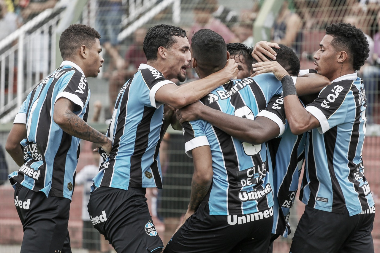 No Grupo 21, Grêmio goleia e avança na Copinha junto com Real-DF
