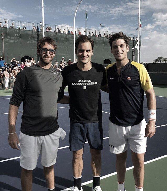 Facundo Lugones: ''El tenis colegial te permite desarrollarte como jugador''