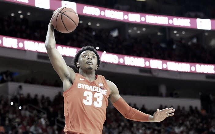 Hughes enters the NBA Draft process