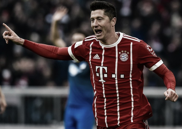 Bayern goleia Hoffenheim de virada e continua soberano na Bundesliga