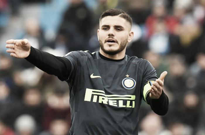 """Presidente do Napoli revela que tentou contratar Icardi e diz: """"Com Sarri, poderia marcar 40 gols"""""""