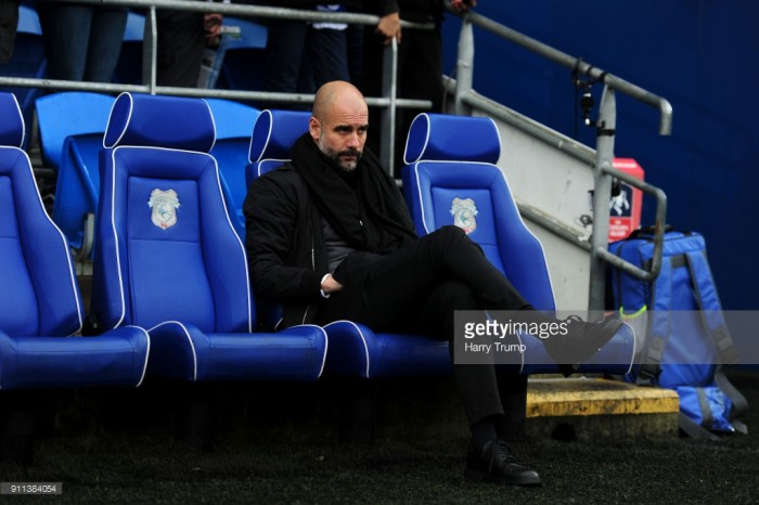 Pep Guardiola hails special Manchester City side following Cardiff conquest