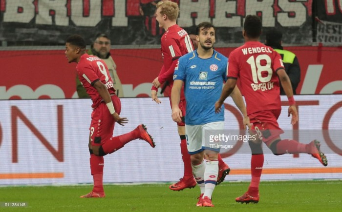 Bayer 04 Leverkusen 2-0 1. FSV Mainz 05: Bailey's stunner inspires Die Werkself to easy win against struggling visitors
