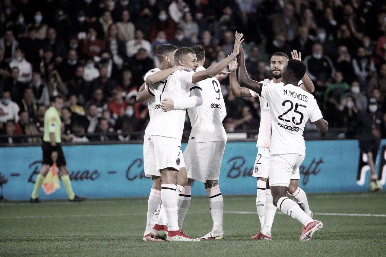 Hakimi decide duas vezes, PSG vence Metz e segue imparável na liderança da Ligue 1
