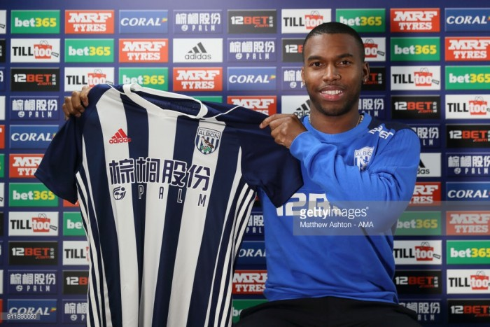 West Brom complete Daniel Sturridge loan deal