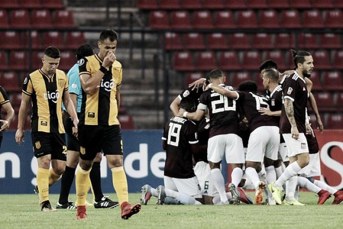 Bobo só no nome: Carabobo vence Guaraní-PAR e larga em vantagem na Libertadores
