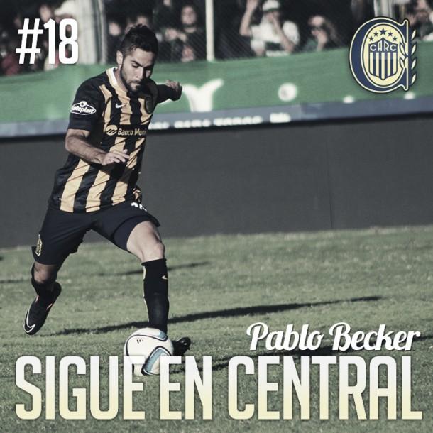 Pablo Becker renovó hasta el 2019