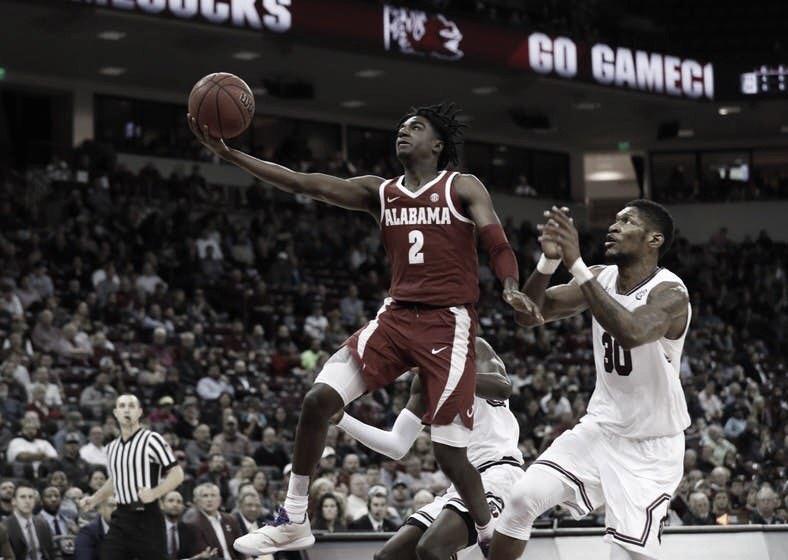 Alabama duo declares for the NBA Draft