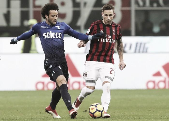 Milan e Lazio empatam sem gols na semifinal da Copa da Itália