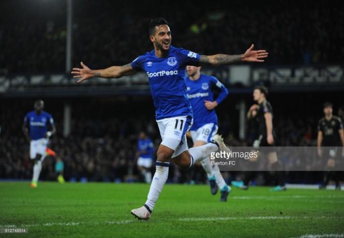Everton 2-1 Leicester City: Walcott's first-half brace gets Blues back to winning ways