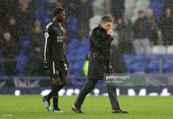 "Claude Puel: Leicester performance in Everton defeat ""not enough"" but Mahrez saga is no excuse"
