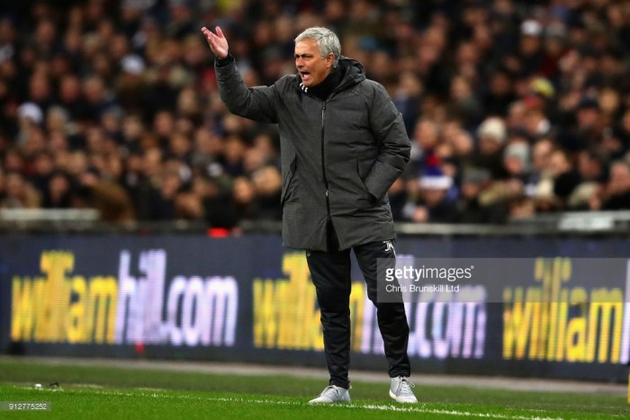 "Jose Mourinho: ""We will be fighting for second place"""