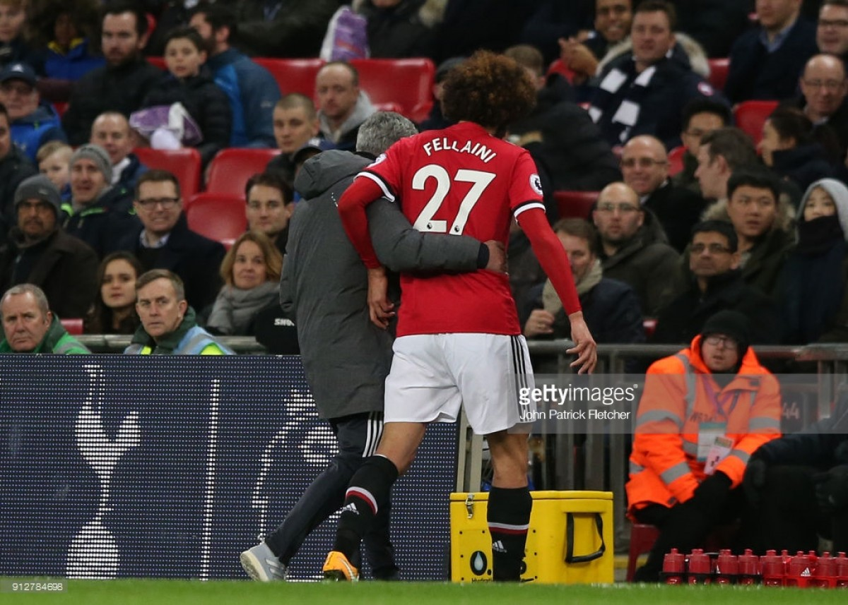 José Mourinho confirms Marouane Fellaini is available for Liverpool clash