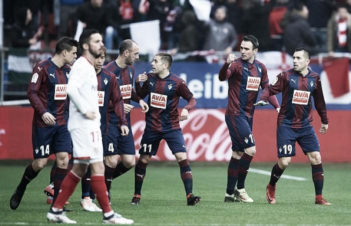 Eibar quebra tabu de 17 anos e aplica goleada histórica sobre Sevilla