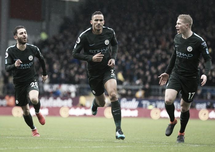 Danilo marca golaço, mas City desperdiça muitas chances e cede empate ao Burnley